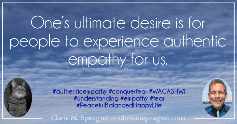 Authentic Empathy and Letting Go Part 2