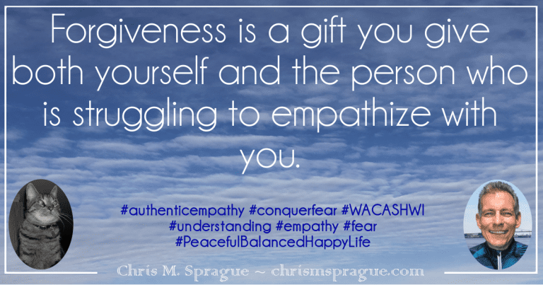 Authentic Empathy, Understanding and Forgiveness